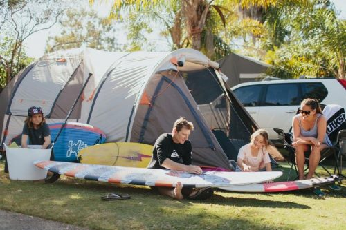 Why family holidays are getting back to basics