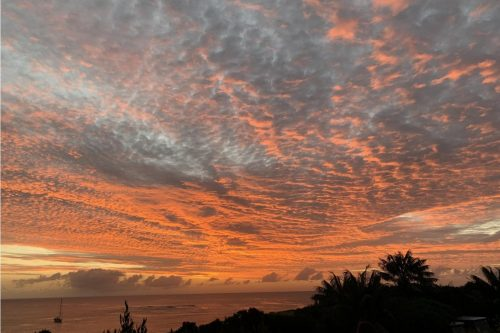 Capella Lodges the perfect spot for a Lord Howe Island Sunset