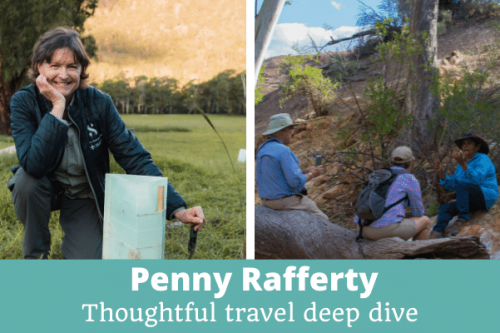 PENNY RAFFERTY: DEEP DIVE INTO THOUGHTFUL TRAVEL: EPISODE 251 OF THE THOUGHTFUL TRAVEL PODCAST